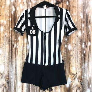 Leg Avenue Referee Costume Size Sm/Med Worn once!